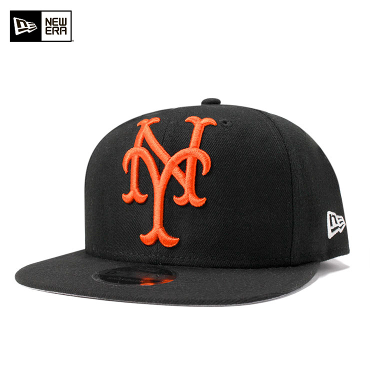 53b117b3711 New gills NEW ERA 9FIFTY snapback cap original fitting MLB New York Mets  ground logo black