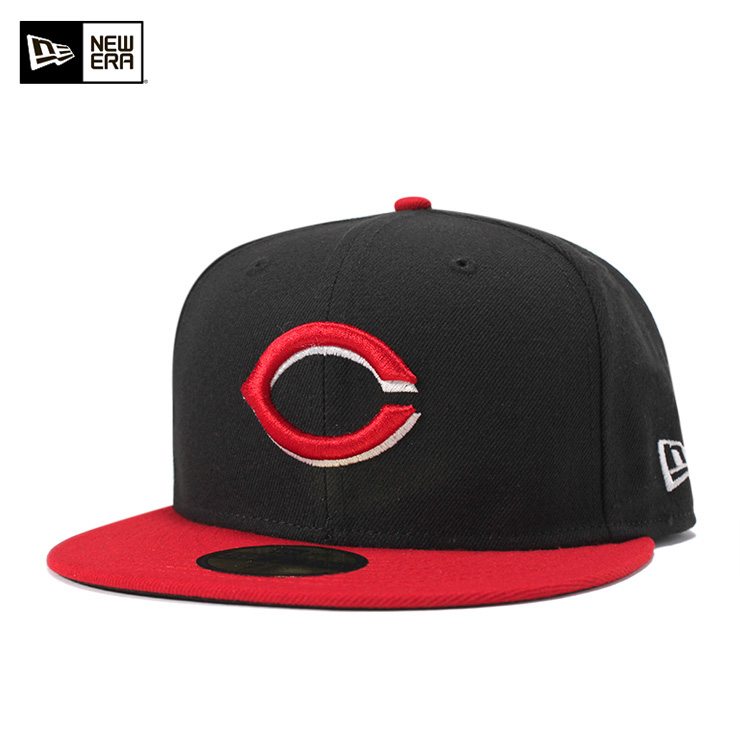 buy popular 88cc1 3bd2d New gills 59FIFTY cap MLB authentic on field alternate Cincinnati Reds  black NEW ERA ...