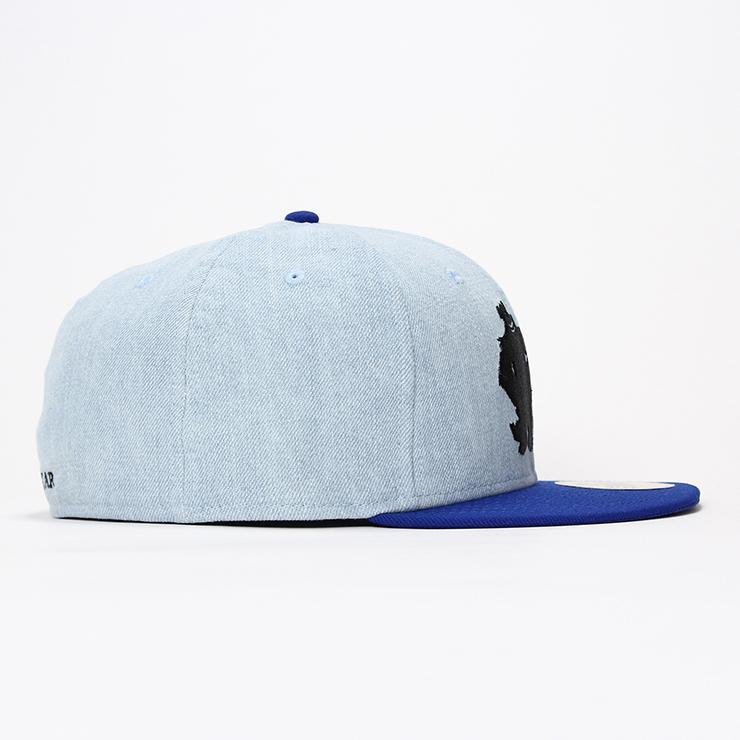 ニューエラ ディズニー コラボ キャップ 59FIFTY PIXAR MONSTERSINC ウォッシュドデニム ブライトロイヤル NEW ERA DISNEY 帽子 メンズキャップ レディースキャップ newera 青 ブルー メンズ帽子 レディース帽子 ぼうし モンスターズインク キャラクター コラボキャップQoCBWrxed