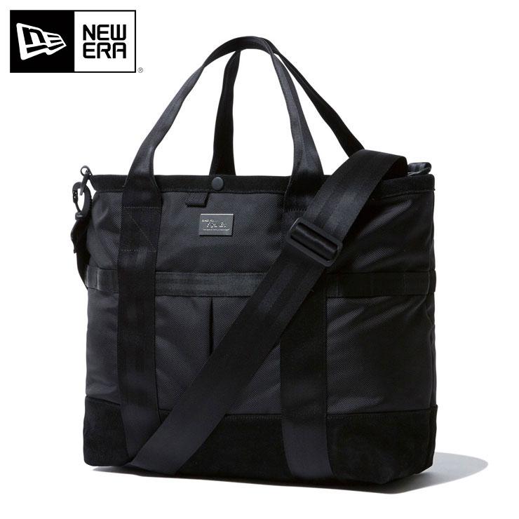 ニューエラ トートバッグ 22L BLACK SUEDE ブラック NEW ERA ブランド 通勤 機能性 おしゃれ 通学 インナーポケット ニューエラバッグ メンズバッグ レディースバッグ バック 黒