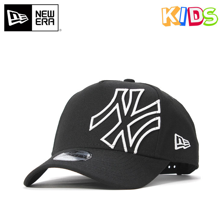 best website 27629 f8666 New gills kids cap snapback 9FORTY A-FRAME BATTALION MLB New York Yankees  black white ...