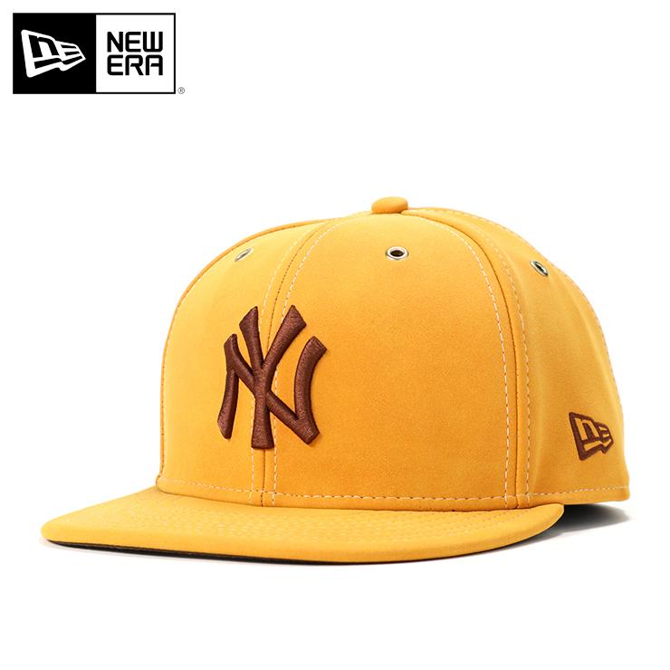 ニューエラ キャップ 59FIFTY SYNTHETIC NUBUCK MLB ニューヨークヤンキース イエローヌバック NEW ERA ぼうし 野球帽 ベースボールキャップ フラットキャップ new era ブランド おしゃれ ストリート newera ニューエラキャップ メンズキャップ レディースキャップ