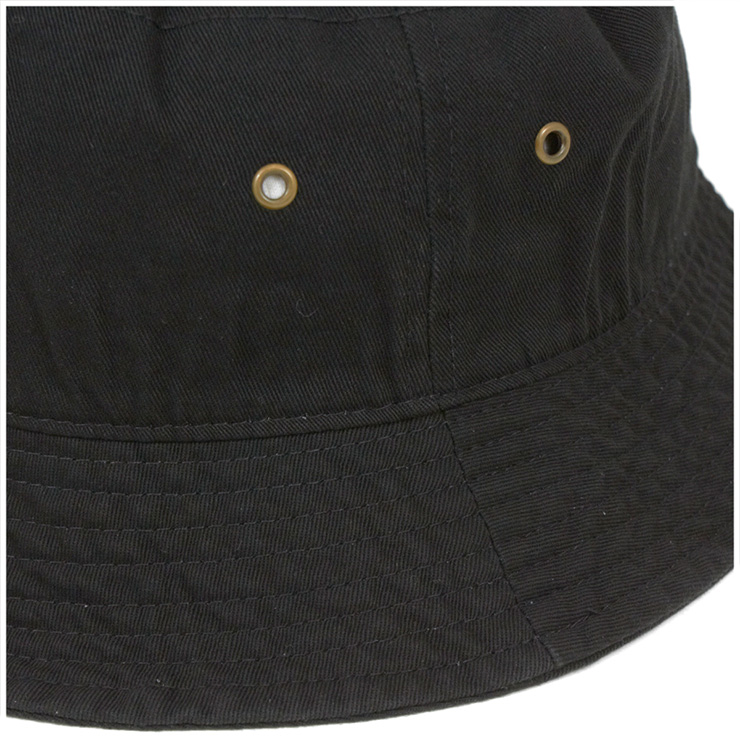 583c89bc7fb645 ... New Hatten bucket Hat stone washed Black Hat NEWHATTAN BUCKET HAT STONE  WASHED BLACK [Hat