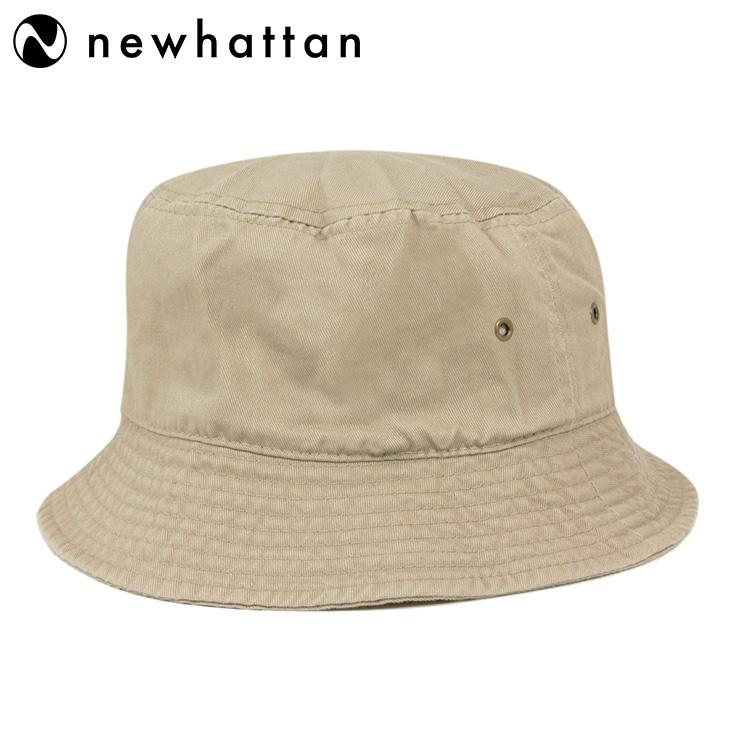 01fb223df New Hatten bucket Hat stone washed khaki Hat NEWHATTAN BUCKET HAT STONE  WASHED KHAKI [Hat large size mens ladies] [KH] #HA: O
