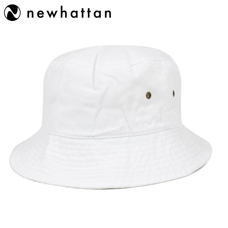 33534c9c68088f New Hatten bucket Hat stone washed white hat NEWHATTAN BUCKET HAT STONE  WASHED WHITE [Hat ...