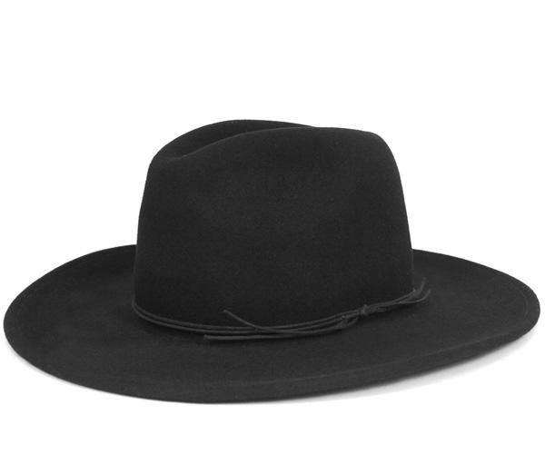ニューヨークハット(NEW YORK HAT)ラフ ライダー スローチ ブラック 帽子 ROUGH RIDER SLOUCH BLACK 【返品・交換対象外】