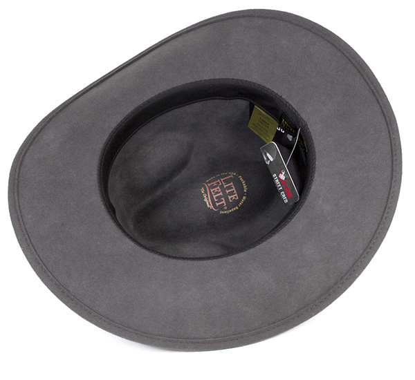 New York Hat felt caps  amp  rough rider slot gray hats NEW YORK HAT ROUGH  RIDER SLOUCH GRAY  5311  felt Hat large size mens ladies and  GY   HA  F 40f361095a52