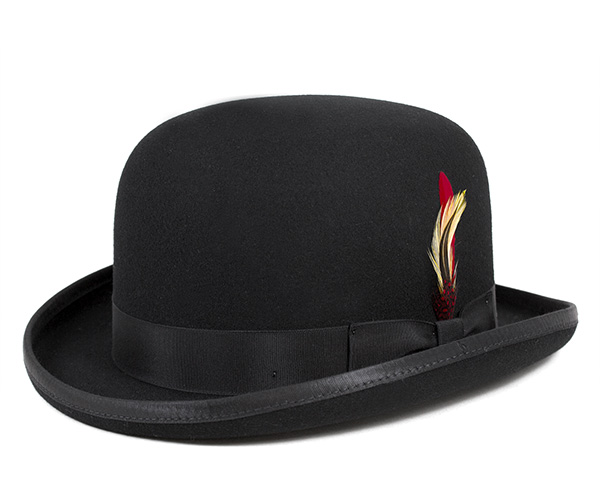 ニューヨークハット(NEW YORK HAT)クラシック ダービー ブラック 帽子 CLASSIC DERBY BLACK