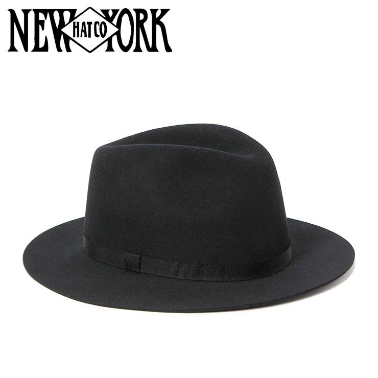 ニューヨークハット ハット HOMESTEAD ブラック NEW YORK HAT