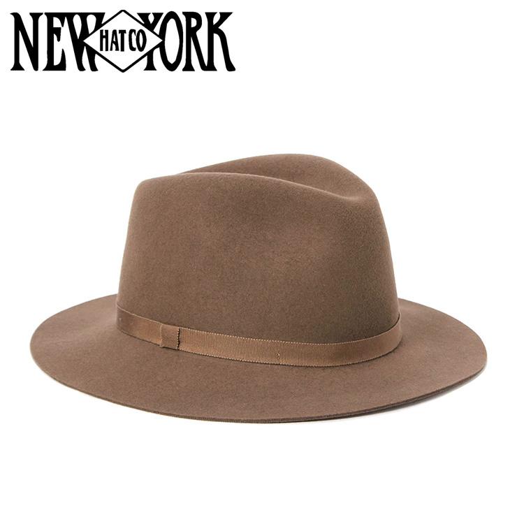 ニューヨークハット ハット HOMESTEAD ブラウン NEW YORK HAT