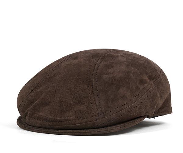 4d4fe54181c19c ニューヨークハット(NEW YORK HAT)ハンチング スエード ブラウン 帽子 HUNTING SUEDE 1900 BROWN