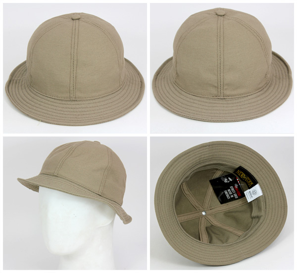 纽约帽子帆布网球帽卡其色帽子纽约帽子帆布网球卡其色 #HA: O