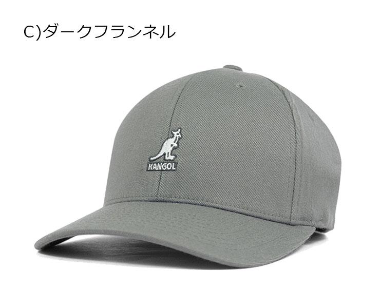 4404b9fac6b52 onspotz  KANGOL Flex fit baseball cap black KANGOL WOOL FLEXFIT ...