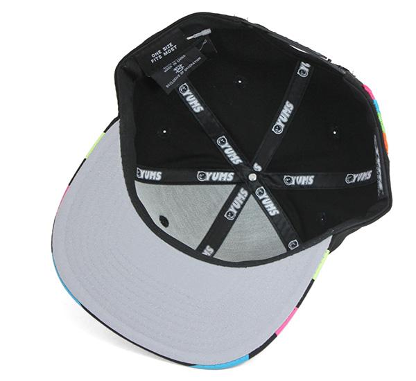 2e84e2c5334bf onspotz  James Snapback Cap classic Black Hat YUMS SNAPBACK CAP ...