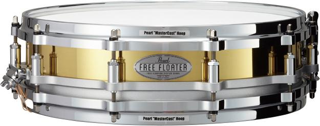 Pearlパール スネアドラム Free Floating FBN1435/C