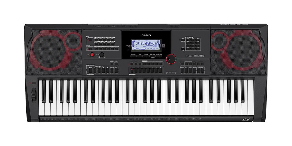 New!CASIOハイグレード・キーボード CT-X5000