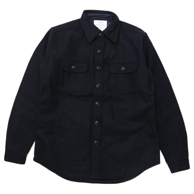 GINGAMP(ギンガム)C.P.O SHIRT D.K Navy シーピーオーシャツ シャツ