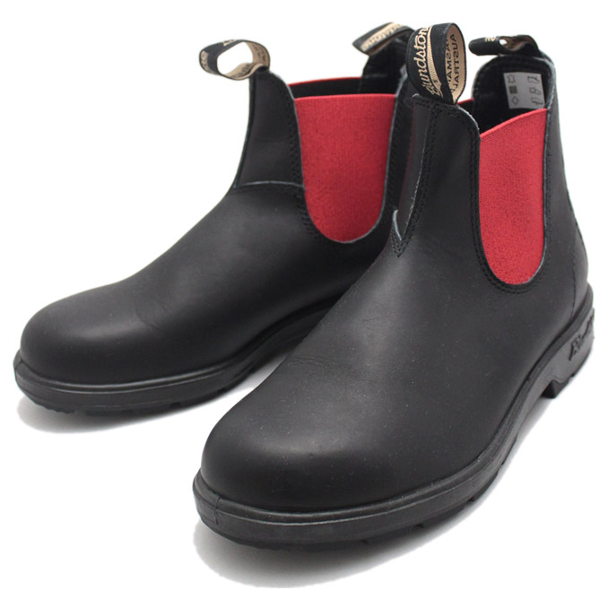 ブランドストーン BS508 SIDE GORE BOOTS Black×RED