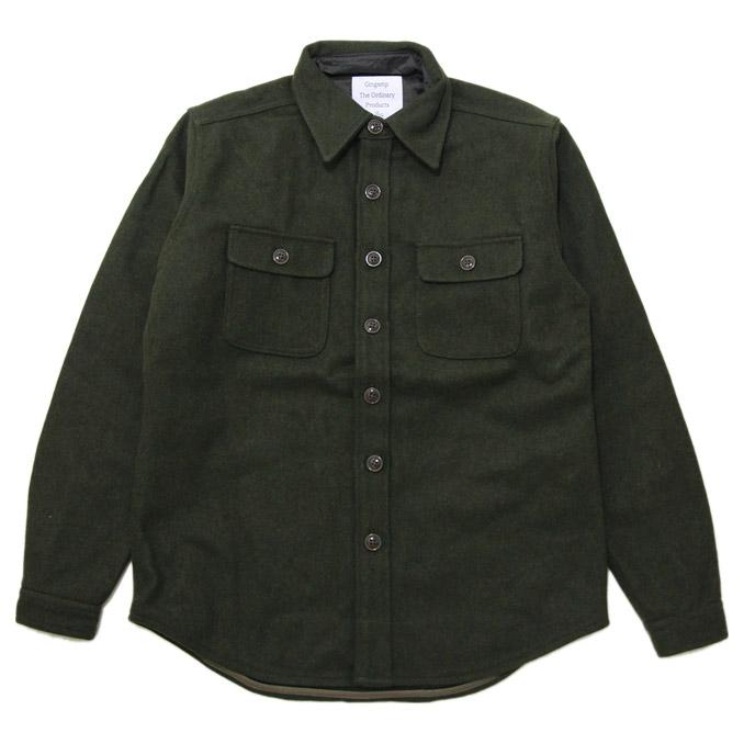 ギンガム C.P.O SHIRT OD Green シーピーオーシャツ シャツ