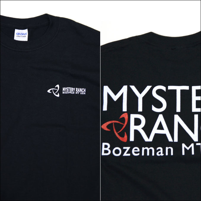 MYSTERY RANCH (mystery Ranch) SQUARE LOGO TEE square logo T shirt