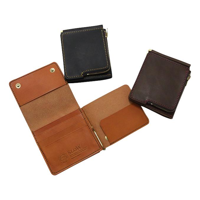 スロウ SLOW toscana Compact Wallet 3color トスカーナコンパクトワレット