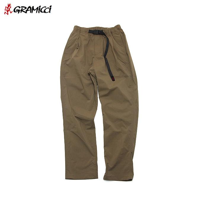 グラミチ タックテーパードパンツ GRAMICCI Nylon Taslan Tuck Tapered Pants