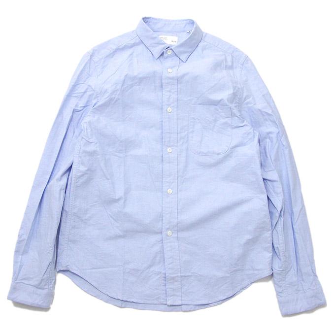 ティージー プラス シャツ Tieasy PLUSB.D. Shirts Sax ボタンダウンシャツ