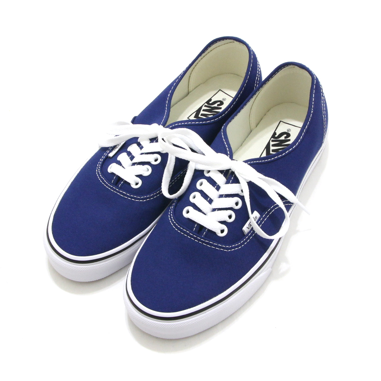 5dc5e6d30e Basic style AUTHENTIC (authentic) of the VANS  station wagons  classical  music line. The simple design which the upper was blue