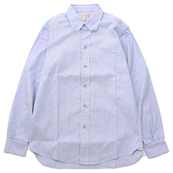 ボンクラ シャツ ボタンダウンシャツ BONCOURA BDシャツ Code lane シャツ