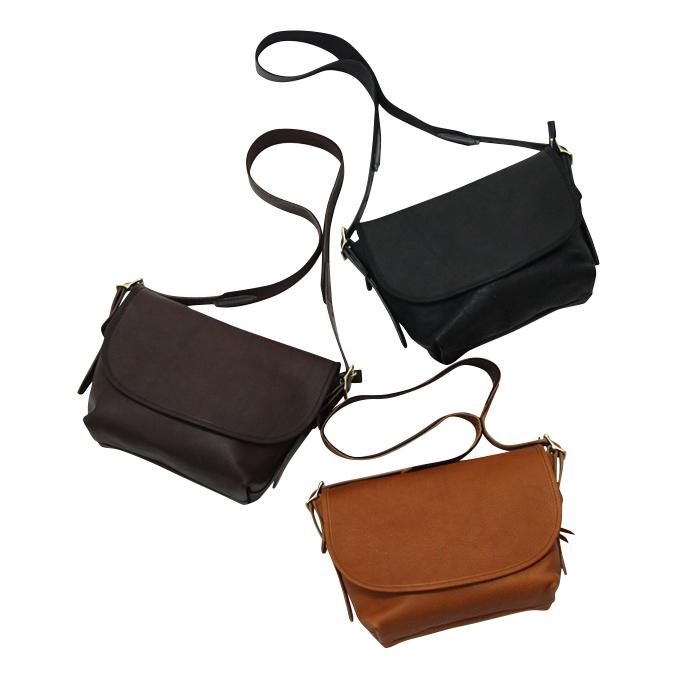 スロウ SLOW rubono Flap Shoulder Bag Ssize 3color フラップショルダーバッグ