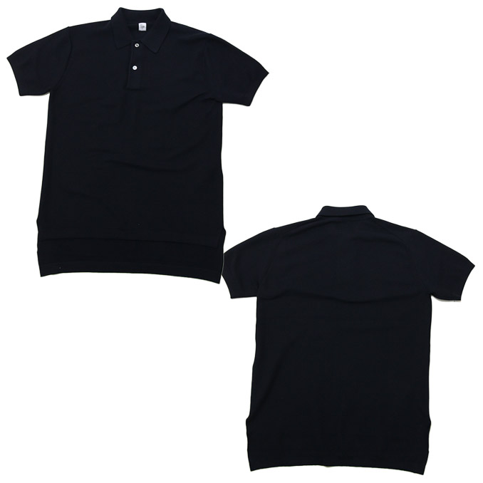 KAPTAIN SUNSHINE(船长阳光)Knit Polo Callar Shirt 2color编织物马球彩色衬衫