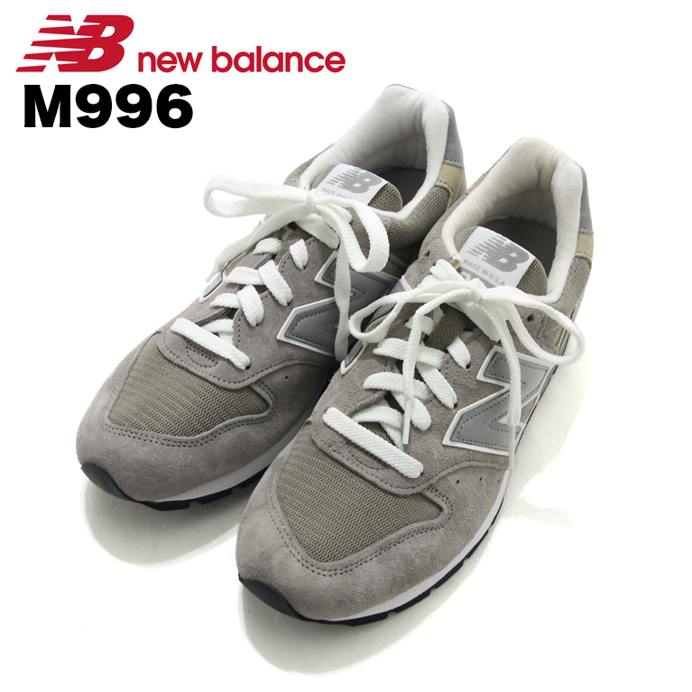 d39d7803 New Balance NewBalance M996 gray Gray Grey sneakers Sneaker shoes Shoes