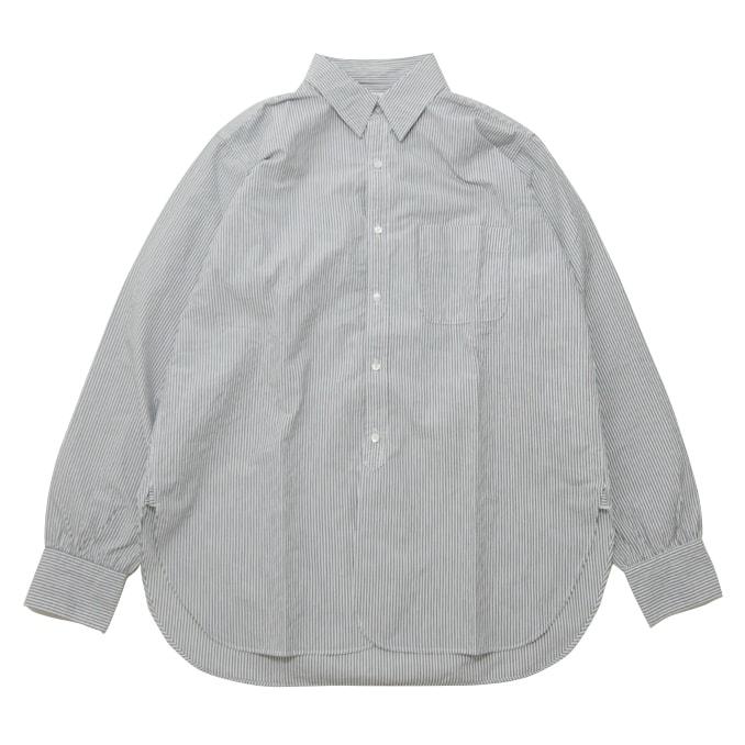 キャプテンサンシャイン KAPTAIN SUNSHINE Classical Shirt Gray Stripe クラシカルシャツ シャツ