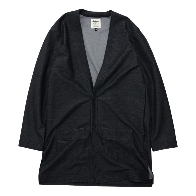 ジャックマン JACKMAN JM8707OE SP. Locker Robe Heather Black ロッカーローブ