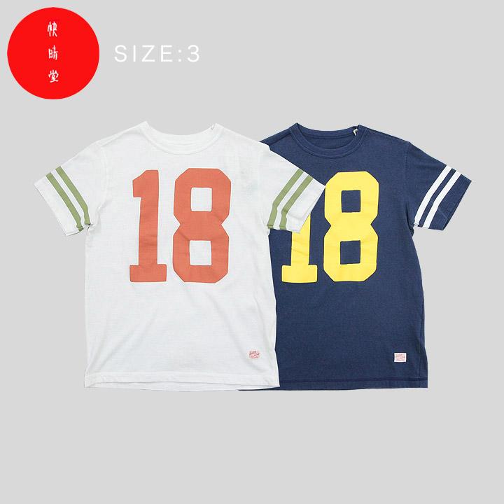 【エントリーで20倍分ポイント贈呈】快晴堂 USED・Tシャツ(UNI-T) 91C-62G 2color SIZE3