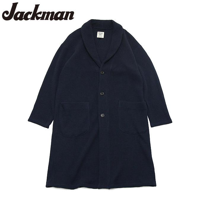 ジャックマン ワッフルロッカーガウン Jackman JM8853 Waffle Locker Gown