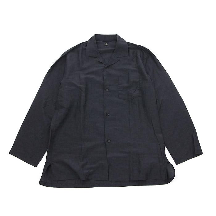キャプテンサンシャイン スリーピングワイドシャツ Kaptain Sunshine Black
