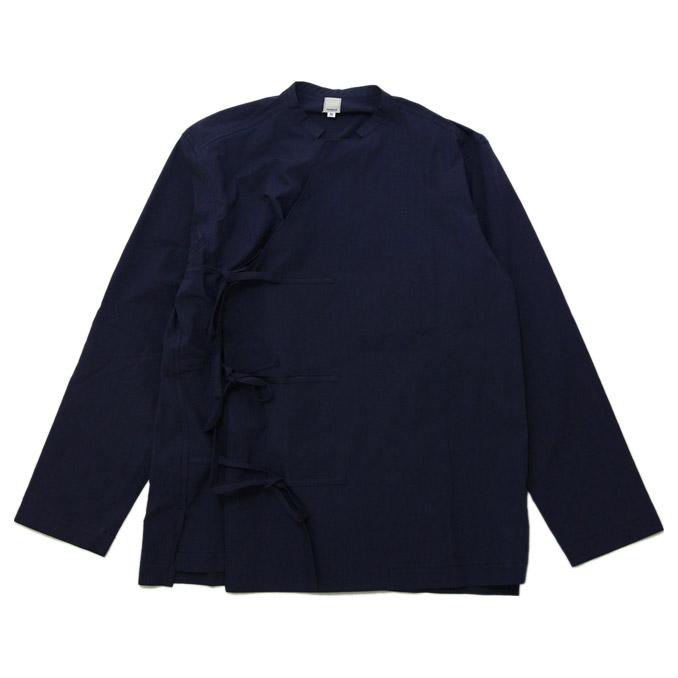 タタミゼ TATAMIZE タタミゼ TATAMIZE TIBETAN SHIRT Navy チベタンシャツ シャツ