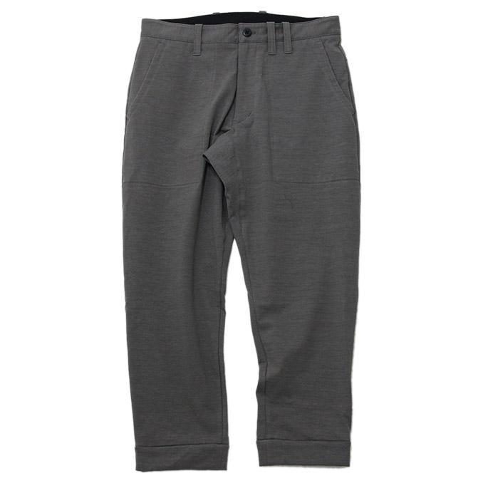 ジャックマン JACKMAN JM4813Stretch Ankle Trousers Middle Gray ストレッチアンクルトラウザーズ