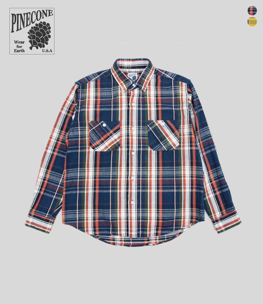 パインコーン ヘビー フランネル ワークシャツ PINECONE HEAVY FLANNEL WORK SHIRT