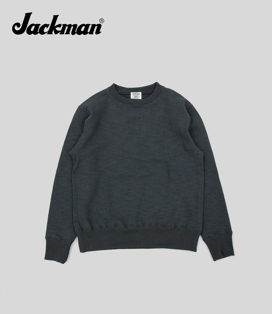 ジャックマン クルーネックスウェット Jackman GG Sweat Crewneck JM7872 Sumikuro