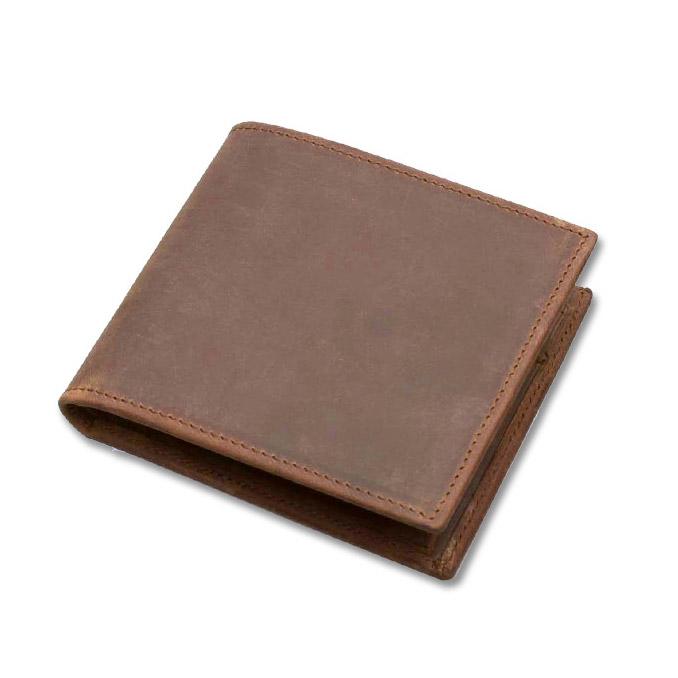 セトラー 二つ折り財布 SETTLER OW1563 COIN WALLET ブラウン