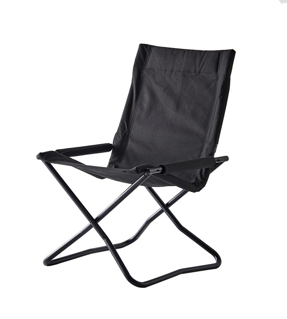 Onway オンウェー チェアエックス OW-5659FL-BLK [ 折り畳み 椅子 chair-x チェア 折りたたみ椅子 ガーデンチェア キャンプ いす リラックスチェア 折りたたみ BBQ アウトドア コンパクト キャンプ用品 ディレクターチェア 花見]