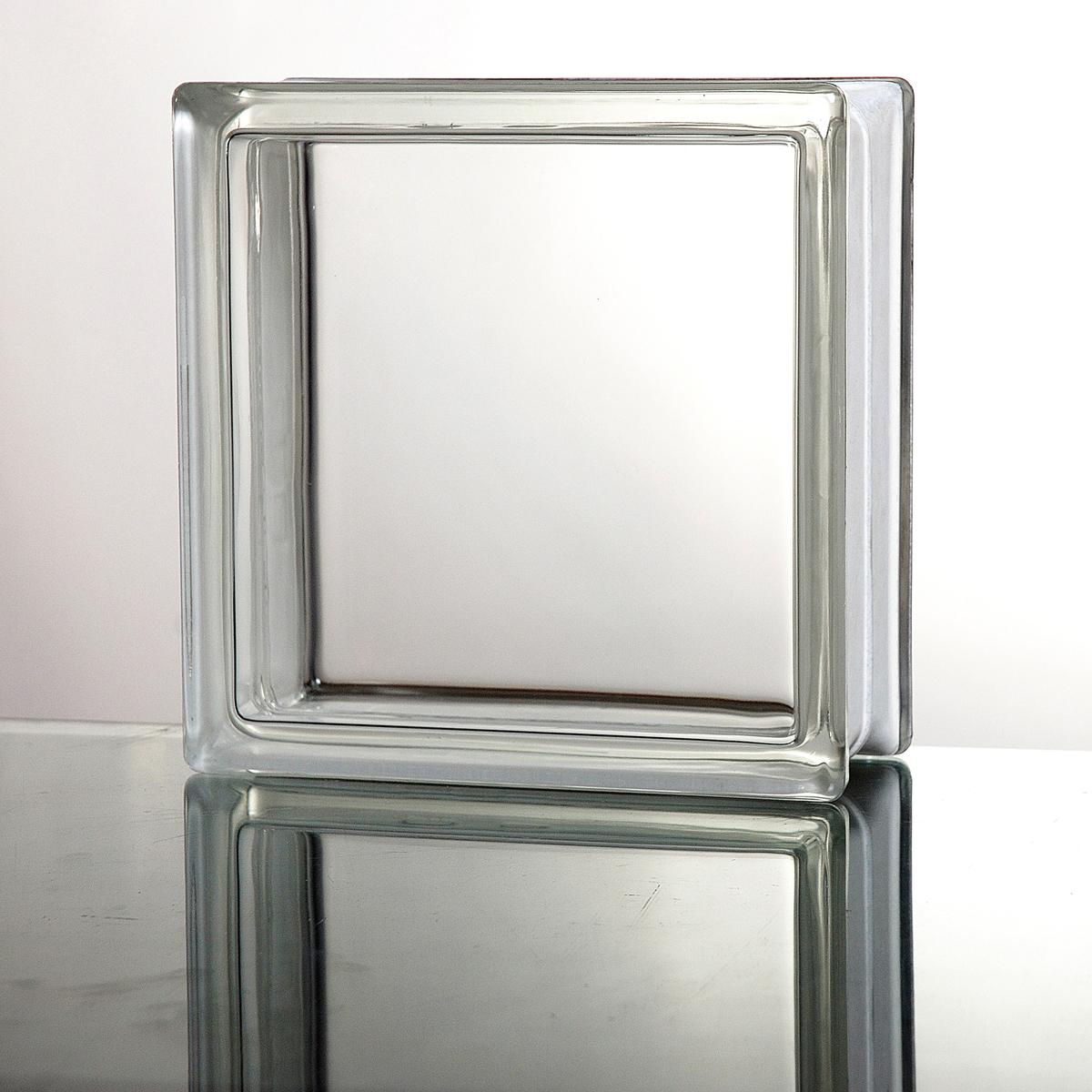 ガラスブロック 送料無料 6個セット 高品質 80mm厚 クリア色ダイレクト