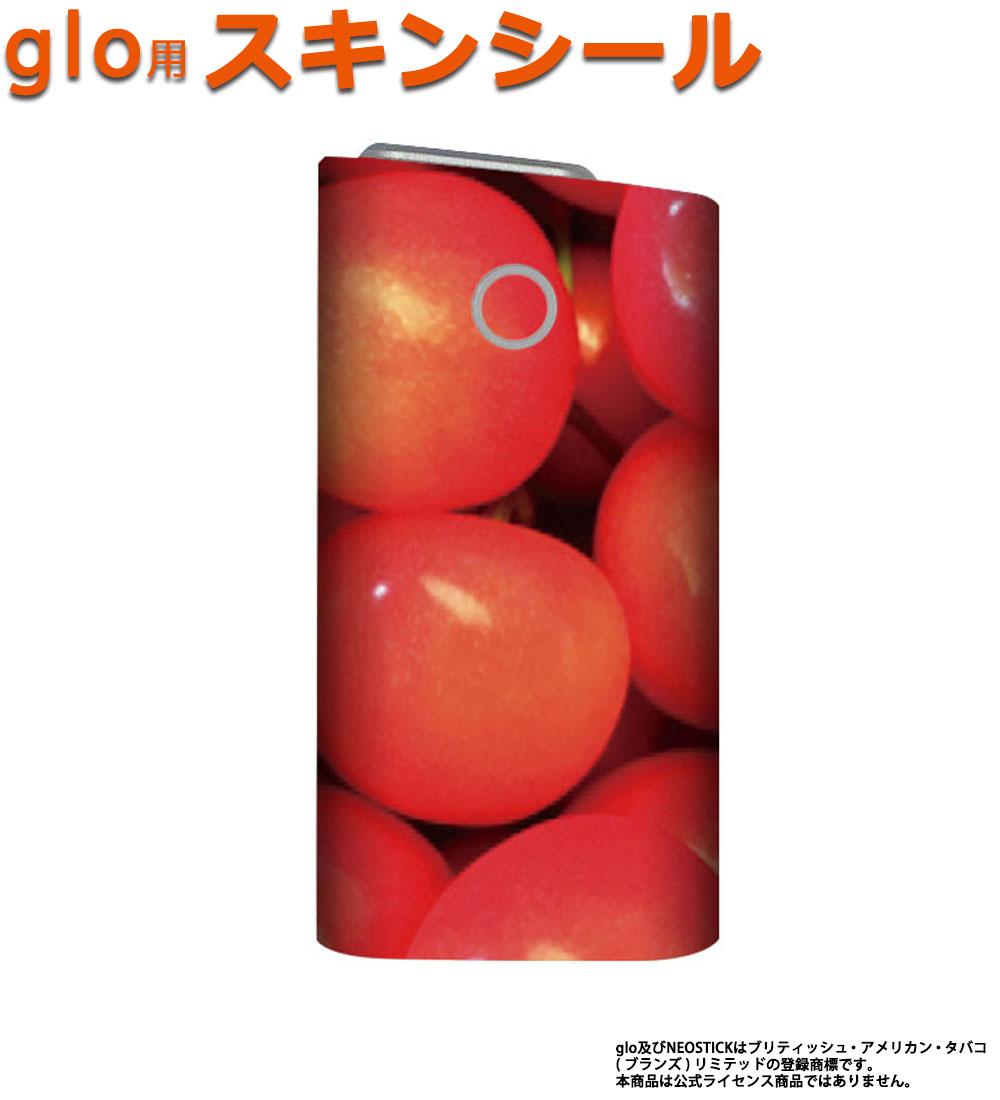 glo グロー スキンシール 全面 シール glo適合品 ステッカー フルセット 電子タバコ mitas mset-glos [フルーツ柄]