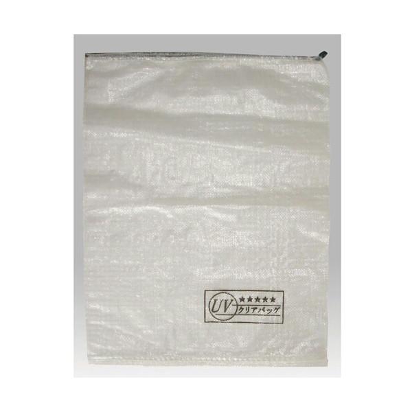 クリア土のう袋 UV土のう 400枚セット 厚手土のう 中身の見える土のう 送料無料 UV土のう袋