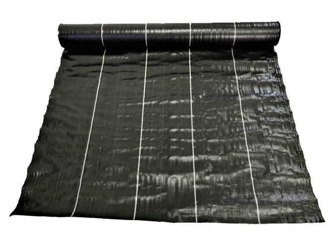 防草シート 4本セット 1m×50m 黒 雑草防止シート UV剤配合 送料無料