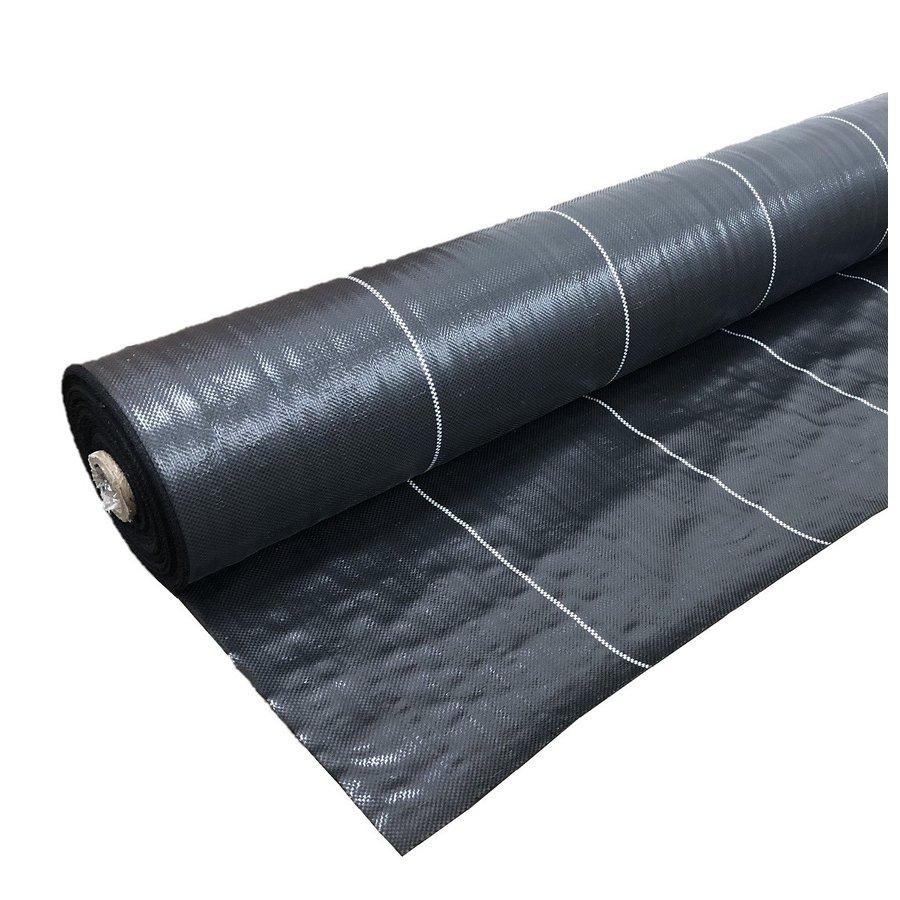 法人様限定 高質防草シート 黒 2m×100m 抗菌剤入り(耐用年数4~6年)厚さ0.4mm