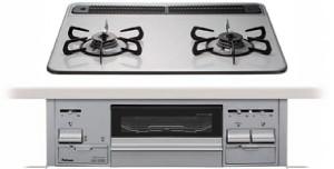 【パロマ】【PD-N21WV-60CV】ビルトインコンロ|シストシリーズ|ハイパーガラスコートトップ|無水両面焼グリル|3V乾電池電源|トップカラー:ティアラシルバー|天板幅60cm
