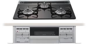 【パロマ】【PD-N70AV-60GK】ビルトインコンロ|クリアガラストップシリーズ|ガラストップ|無水片面焼グリル|3V乾電池電源|トップカラー:グレースブラック|天板幅60cm, 大沼郡:5c2aba50 --- officewill.xsrv.jp